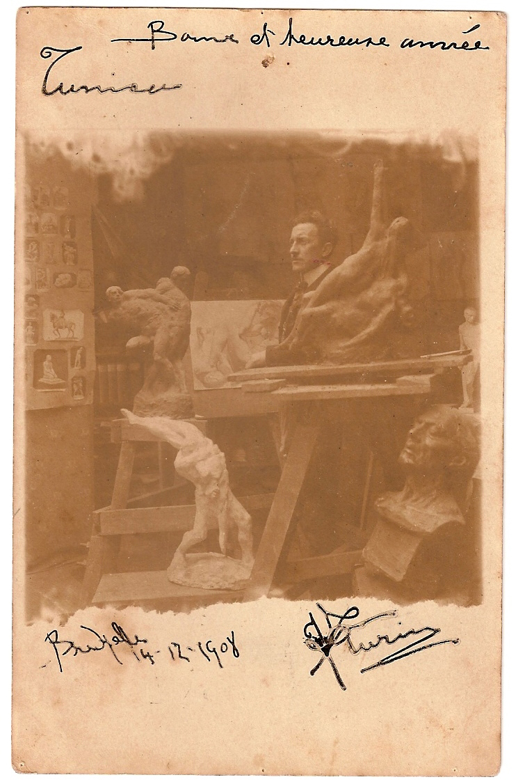 João Turin – Bruxelas 1908