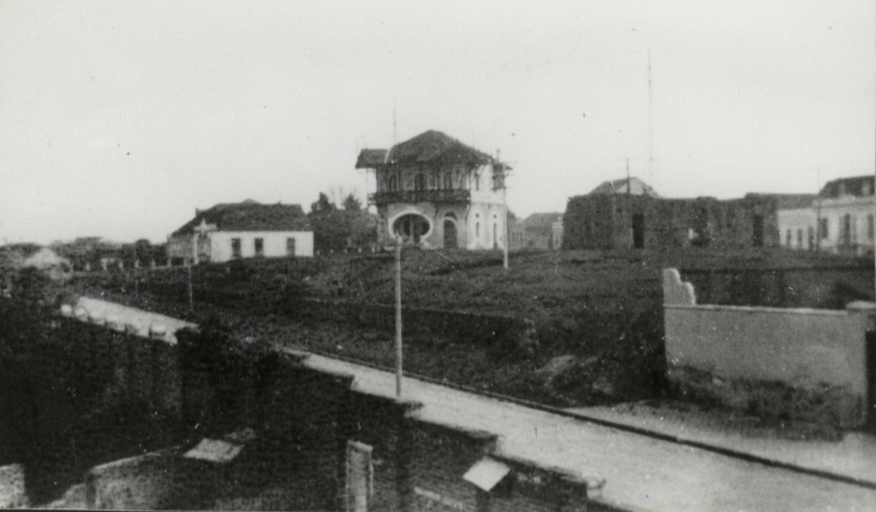 Vista do ateliê João Turin
