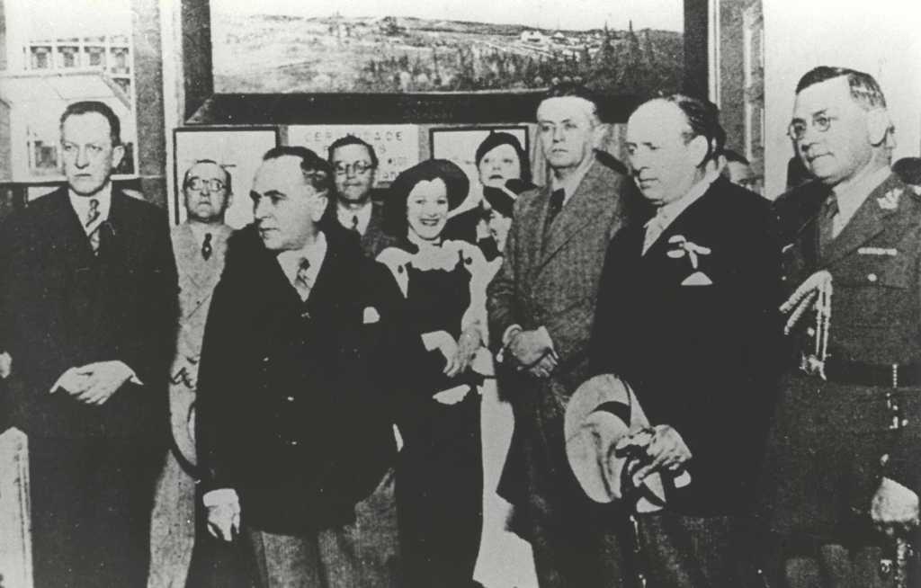 João Turin com Getulio Vargas