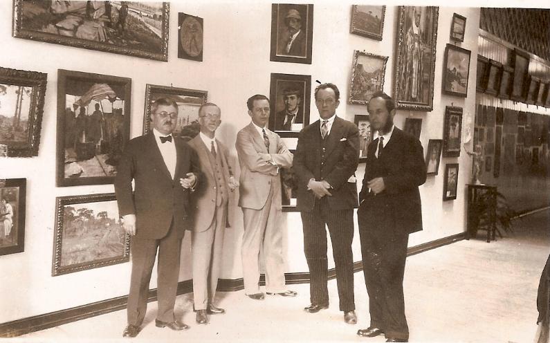 João Turin em exposição