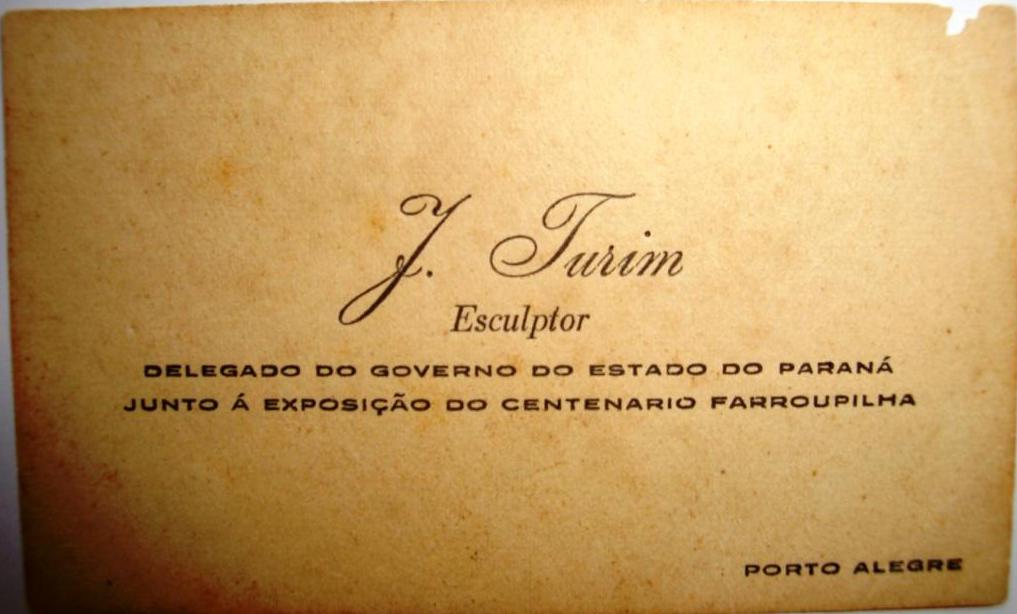 Cartão João Turin